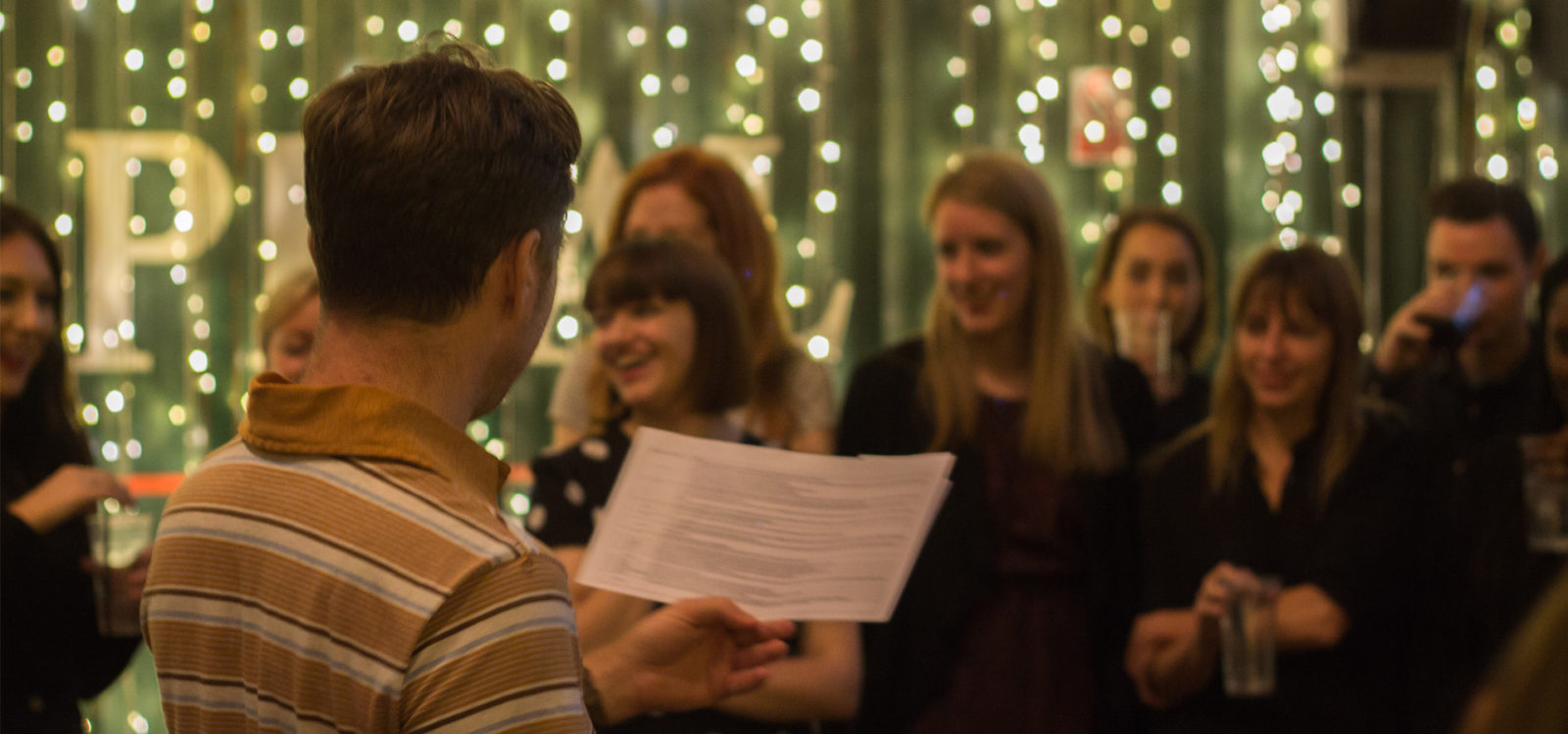 Agency Christmas party speech